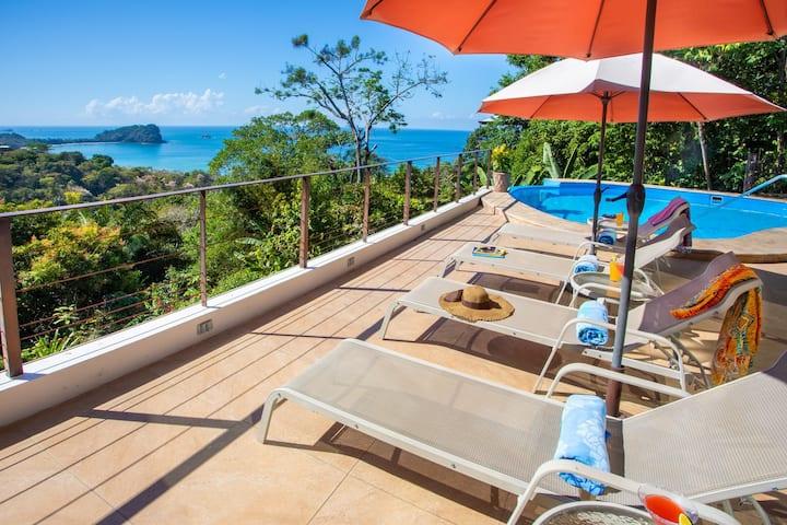 6 bedrooms, Full air-conditioning, Big Ocean Views