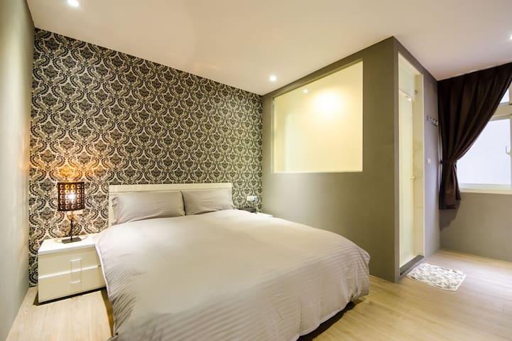(b)羅東夜市平價愛漫遊巴洛克&花漾雙人房/如需選房型請務必先詢問