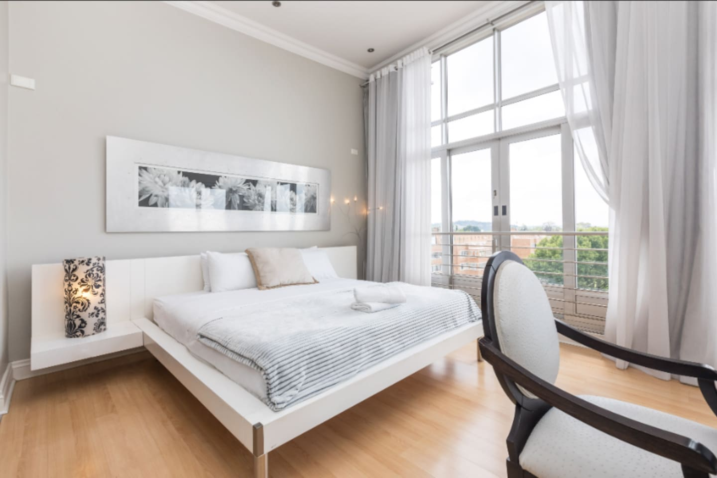Large White Penthouse in award winning building