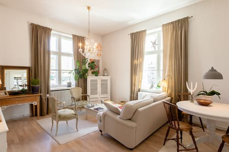 Stylish apartment in old stonehouse