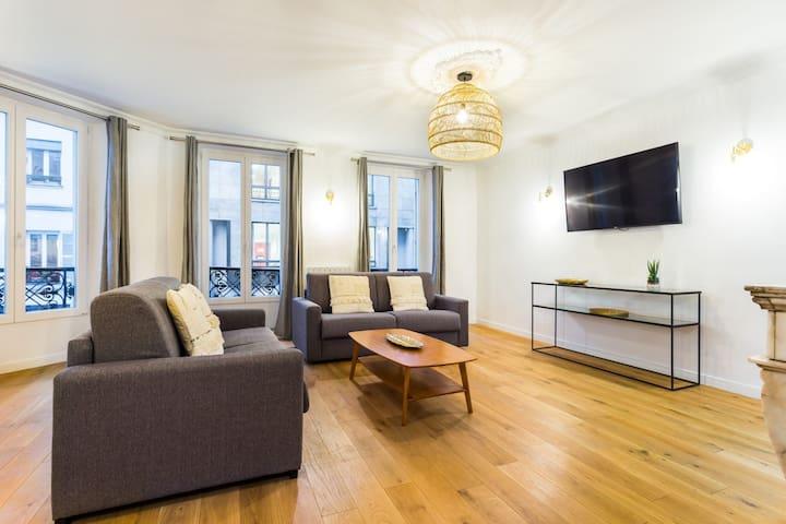 Amazing flat 4BR/12P - South Pigalle-Center Paris