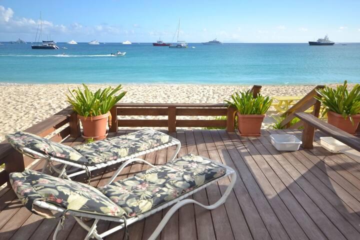 Ocean's Edge 2B; Private Deck on the Beach