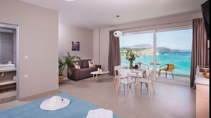 Panorama + Luxury Studios-studio ( sea view)