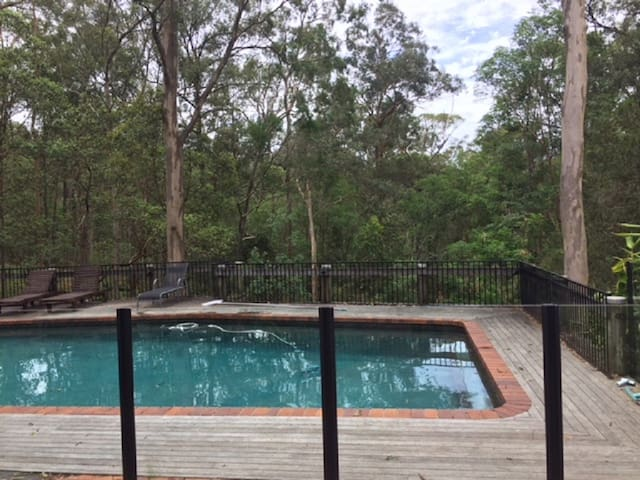 Pool is fully fenced