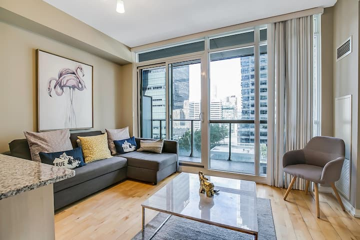 2BDRM + Parking + Sofabed -MTCC, Jays, CN Tower