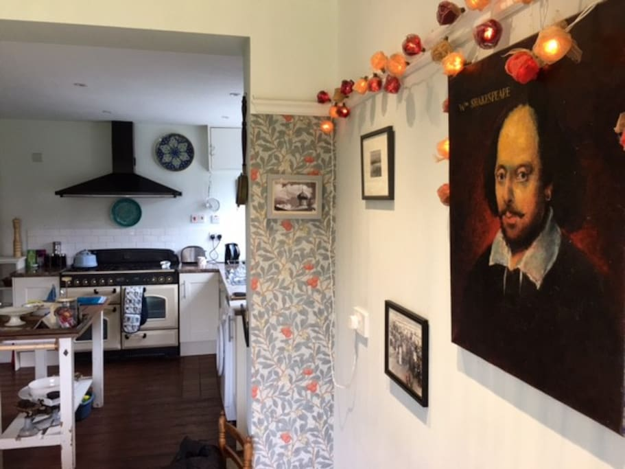 Shakespeare's view of kitchen