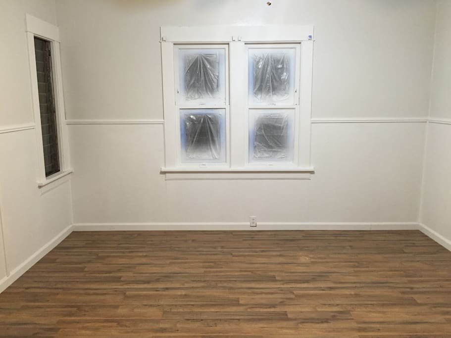 Picture of the room before furnishings