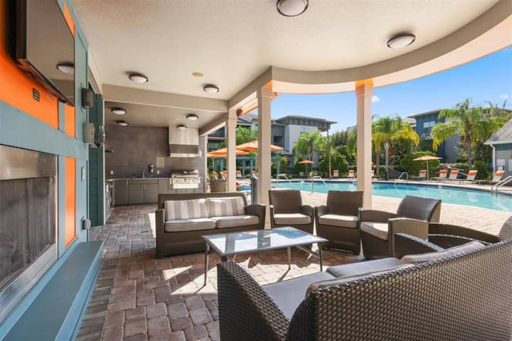 The Cabin at Crosstown Walk, Ideal for long stays