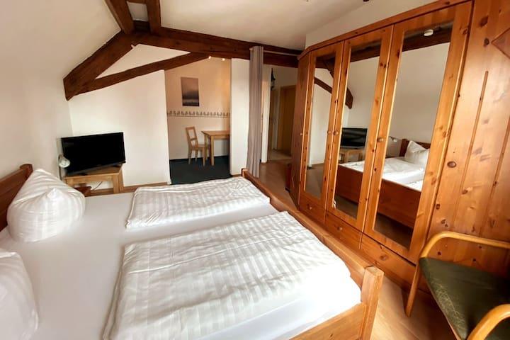 2 Zimmer, Küche, Legoland, Wandern, Baden, Familie