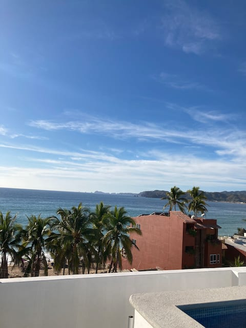 New Barra Appt 4fl/with Roof Top Pool & Ocean View