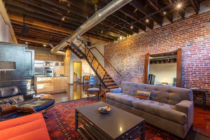 Downtown Townhouse/Loft in RiNo/Curtis Park