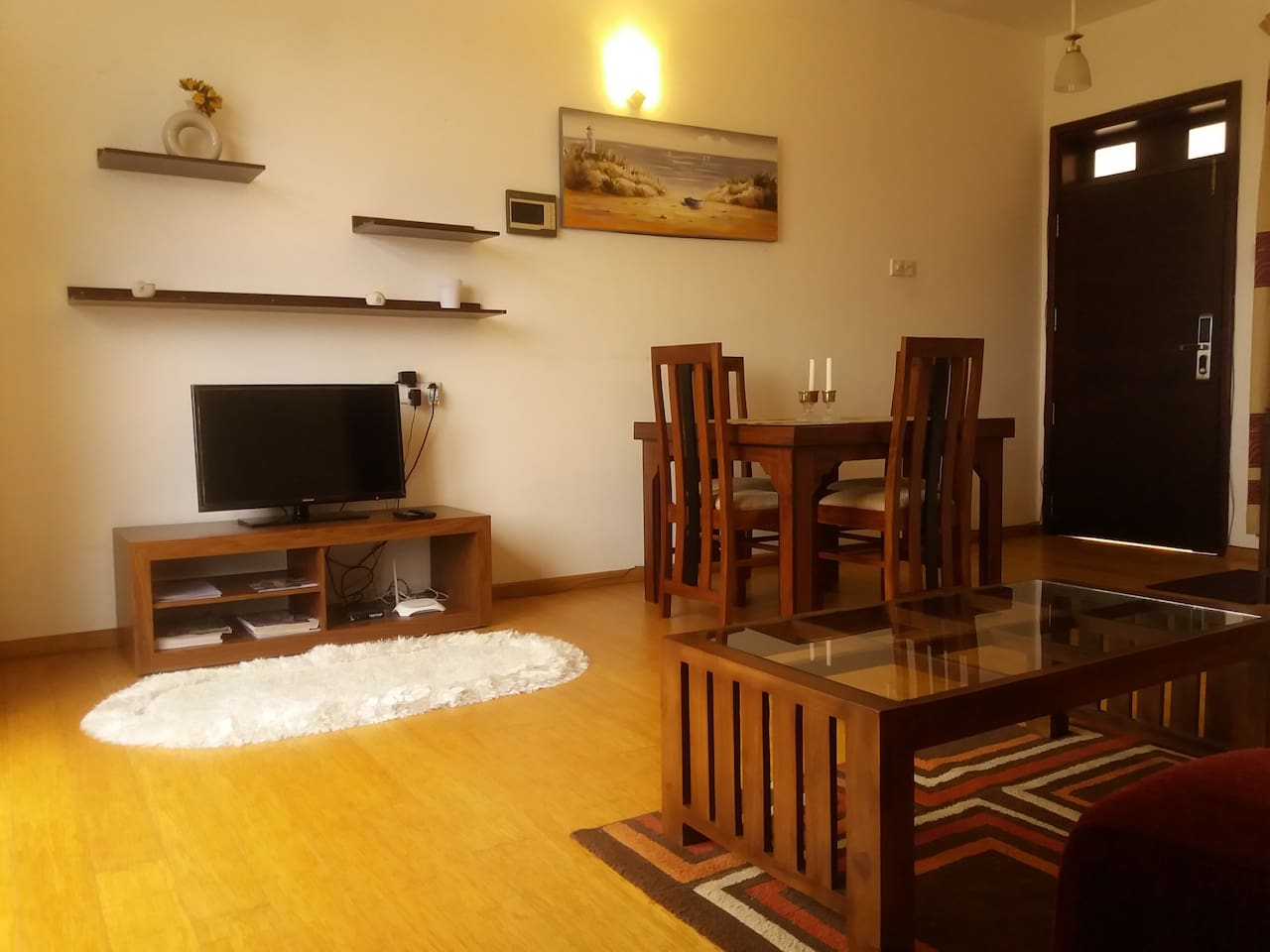 Living area. Fully Airconditioned.