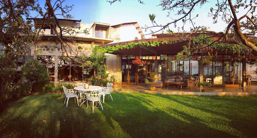 Village Life: Spacious Room, Garden, Yoga Classes