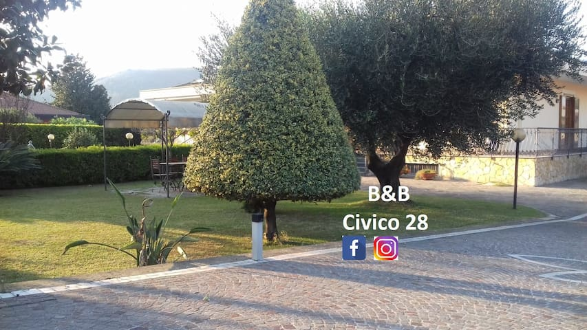 """B&B """"Civico 28"""" Fisciano-Mercato San Severino -SA"""