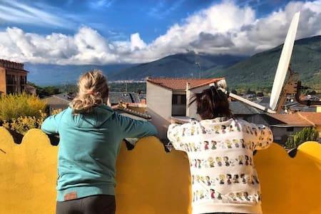 duplex con terraza de 10 m2 y magníficas vistas