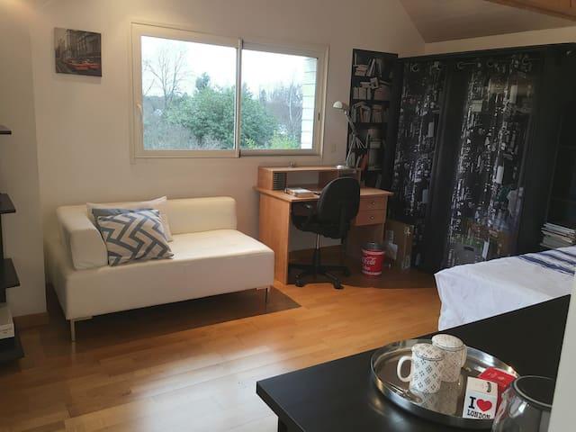 Chambre cosy à 10 minutes de Rennes