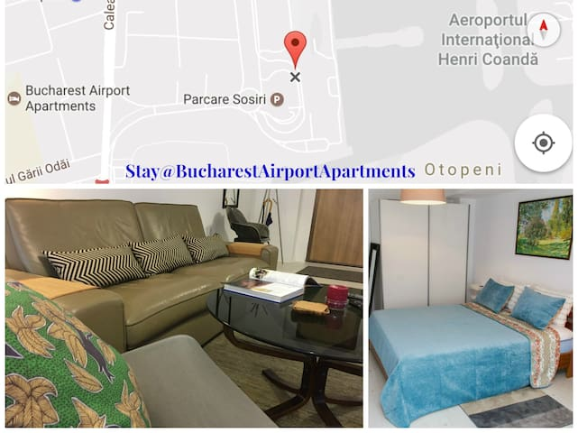 Comfortable & affordable stay 5' to airport - Otopeni - Apartment