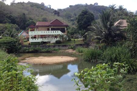Grosses Zimmer mit eigenem Bad - Tambon Kammala