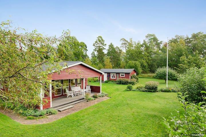 Swedish summer house near lake