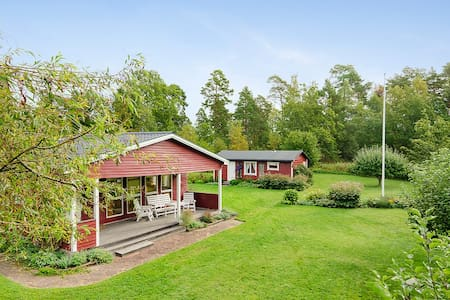 Swedish summer house near lake