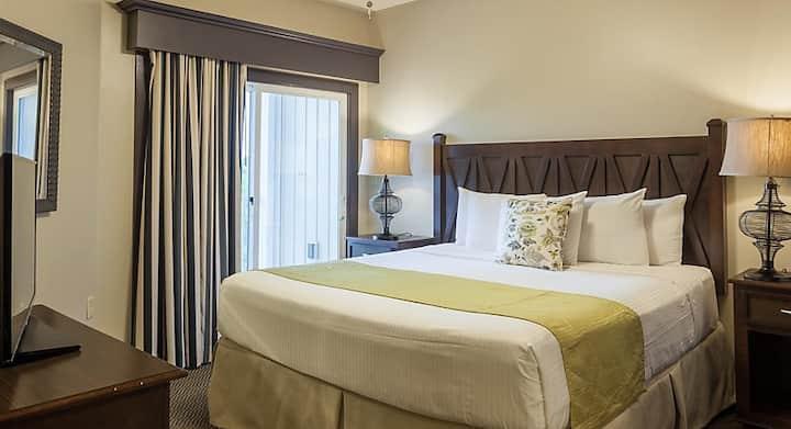 Parkside Williamsburg Resort, one bedroom deluxe