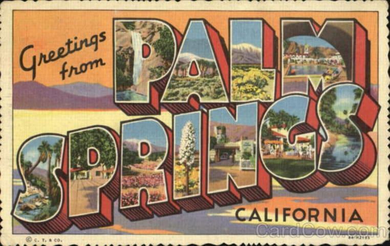Palm Springs 1BR condo heart of dwntwn Pool Tennis
