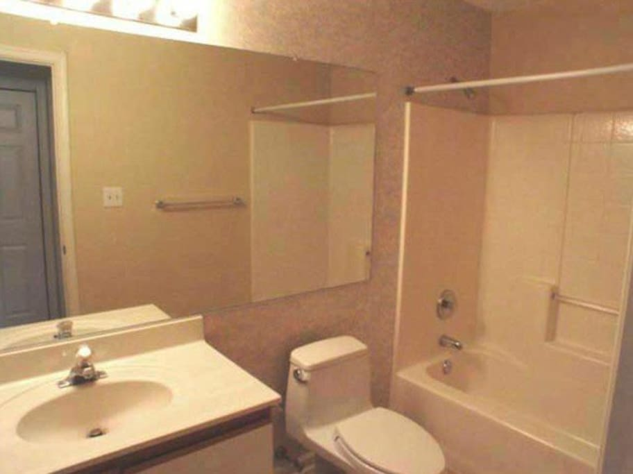 This will be your bathroom