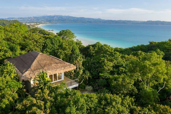 SHELL VILLA, Diniview villa Resort, Boracay Island