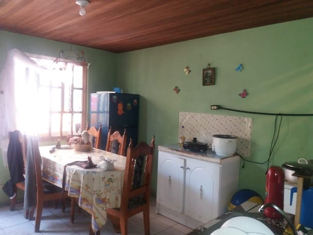 Room in family house.