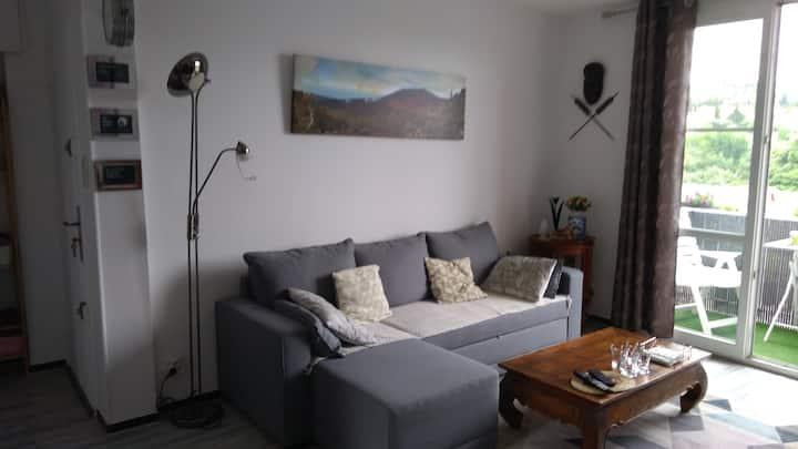 Logement cosy T3 confortable avec vue