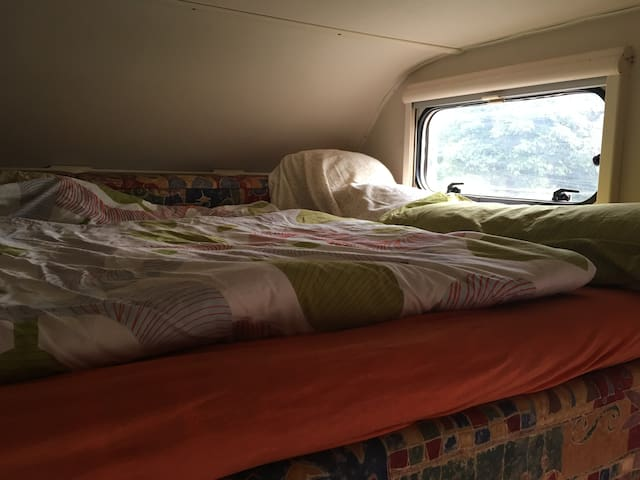 Das Wohnmobil am Bodenseeradweg - Steckborn - Karavan