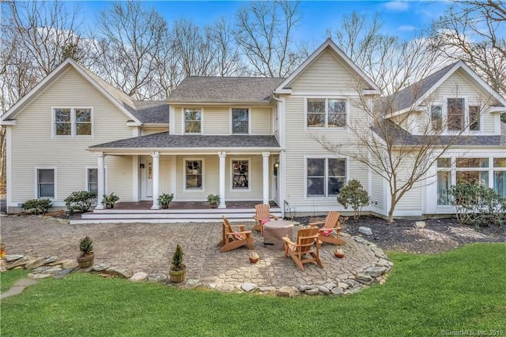 Immaculate 5BR Coastal CT Home With In-Law Suite