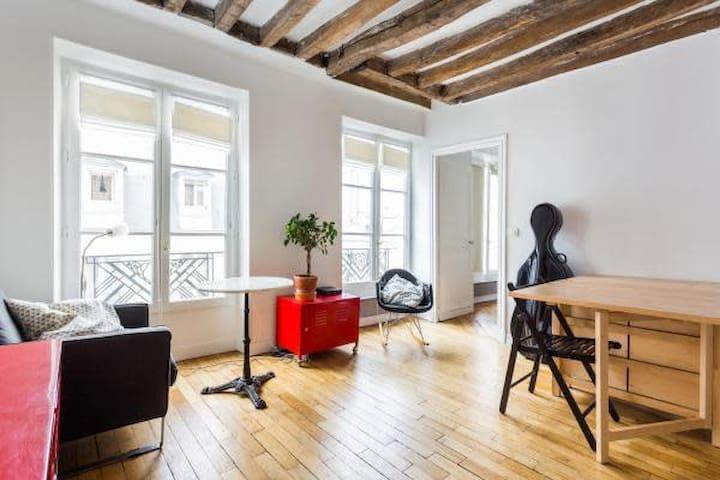 Studio de 22m2 - Saint Ambroise/Folie Méricourt