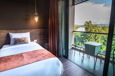 Garden view room at Chiang Khong