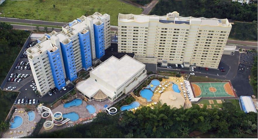 Maravilhoso Apart no Golden Dolphin Grand Hotel