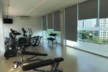 免费使用的健身房