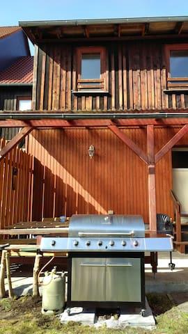 Riesige Ferienwohnung im Harz 2km bis Pullman City - Hasselfelde - Aamiaismajoitus