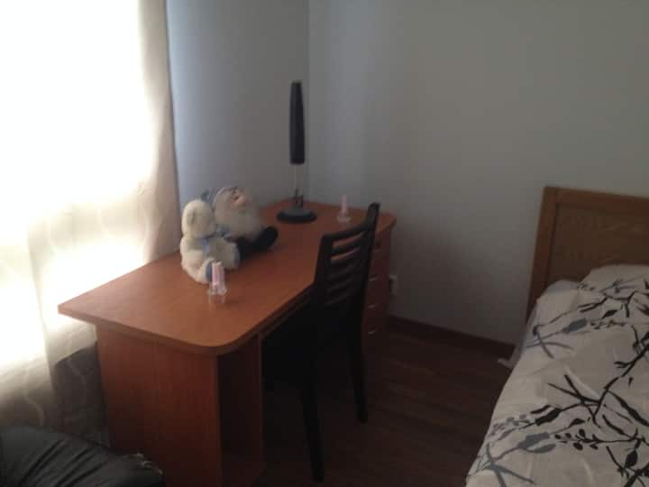 Cozy Room for rent in shared apt