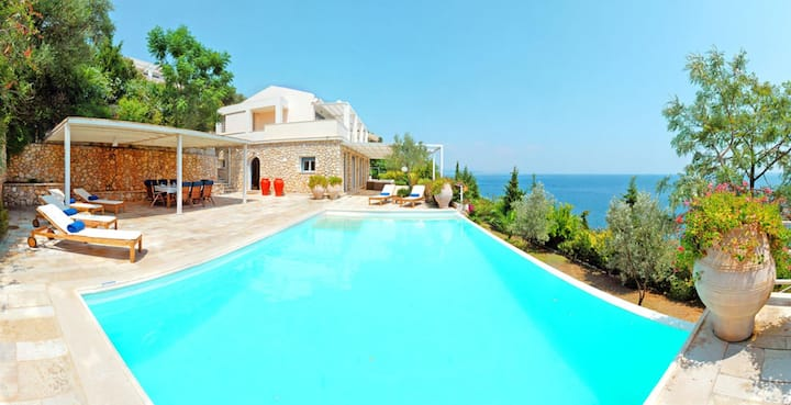 Luxury 4BR Villa in Corfu by UniqueVillas