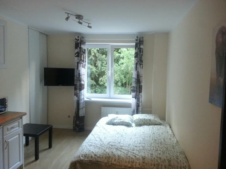 Apart1 - a great located, renovated studio w Sopot