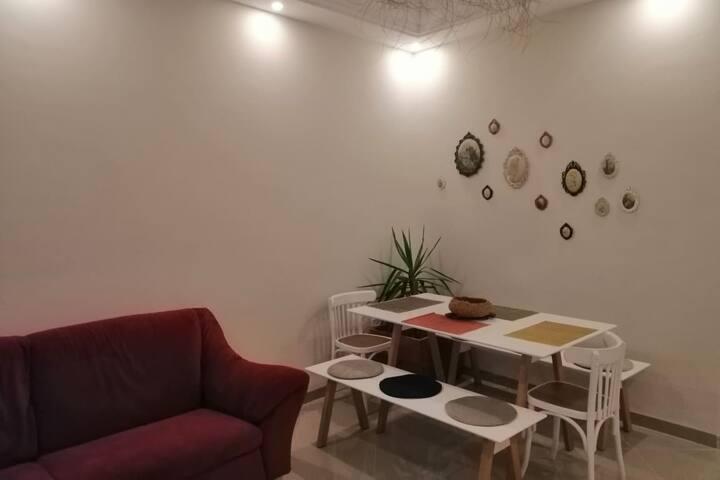 Chambre double dans un appartement cosy à la Marsa