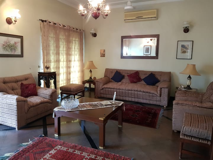 Islamabad,Fully furnished house with peaceful view
