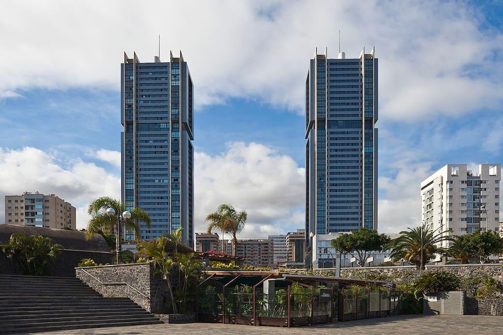 los edificios más altos de la isla con inmejorables vistas