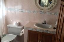 baños completos en cada habitación