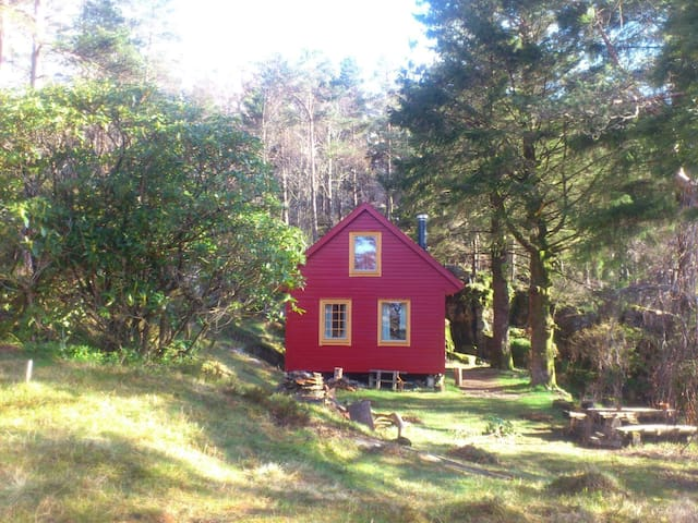 Cottage in the mountain in Bergen