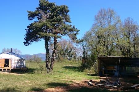 Yourte en lisière de Forêt - Romainmôtier-Envy - Rundzelt