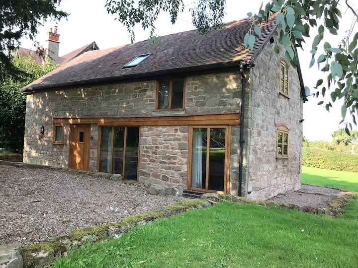 Beautiful stone coach house in a rural location.