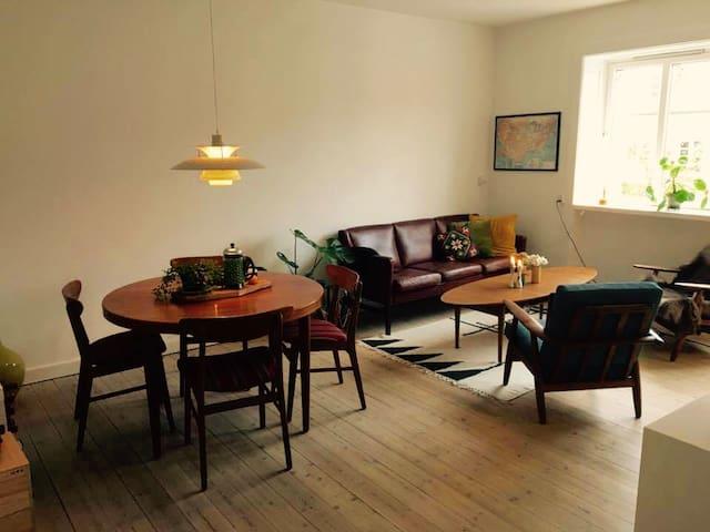 Cozy retro apartment in a safe and quiet area - Köpenhamn - Lägenhet