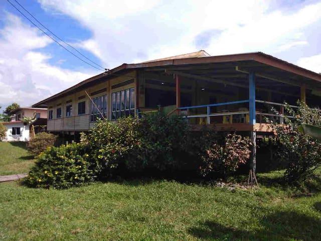 Ribedinan Homestay, Bario. Home in amazing nature.
