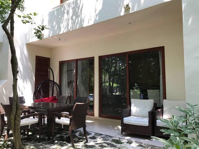 Espectacular departamento en la Riviera Maya